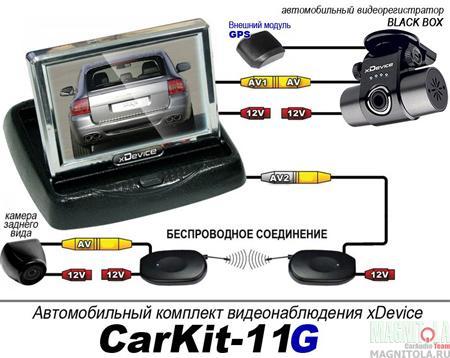 Автокомплект xDevice CarKit-11G