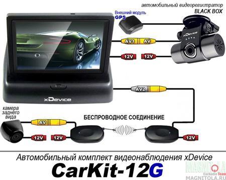 Автокомплект xDevice CarKit-12G