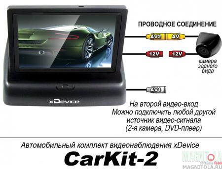 Автокомплект xDevice CarKit-2