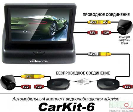 Автокомплект xDevice CarKit-6