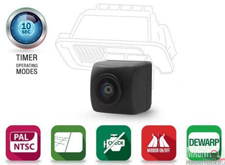 Универсальная камера заднего / переднего вида Gazer CC155