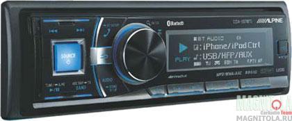 CD/MP3-ресивер с USB и поддержкой Bluetooth Alpine CDA-137BTi