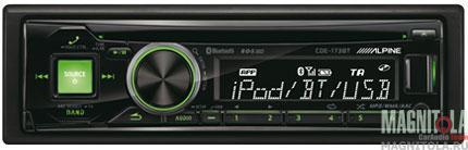 CD/MP3-ресивер с USB и поддержкой Bluetooth Alpine CDE-173BT