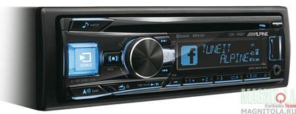 CD/MP3-ресивер с USB и поддержкой Bluetooth Alpine CDE-195BT