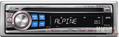 CD/MP3-ресивер Alpine CDE-9873RB