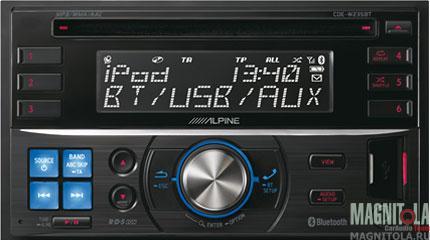2DIN CD/MP3-ресивер с USB и поддержкой Bluetooth Alpine CDE-W235BT