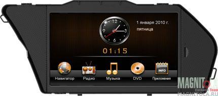 Мультимедийная система для штатной установки, с навигацией, для автомобилей Mercedes GLK (231Hp) (IE) INTRO CHR-1518
