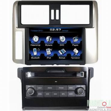 Мультимедийная система для штатной установки, с навигацией для Toyota Prado 150 без усилителя INCAR CHR-2279 PR