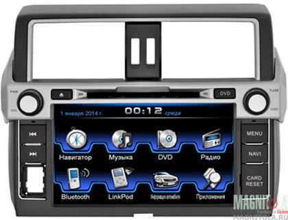 Мультимедийная система для штатной установки, с навигацией для Toyota Land Cruiser Prado 150 (2013 - 2014) INCAR CHR-2297PR