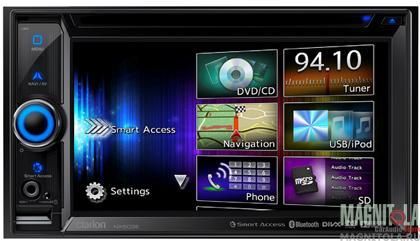 2DIN мультимедийный центр с навигацией и поддержкой Bluetooth Clarion NX503E