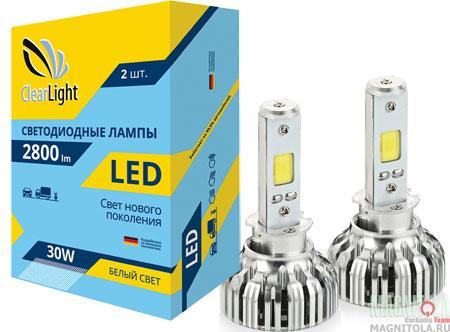 Комплект светодиодных ламп ClearLight LED H3 2800
