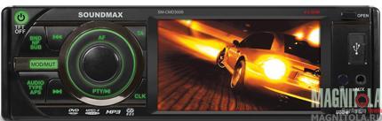 DVD-ресивер со встроенным ЖК-дисплеем Soundmax SM-CMD3009