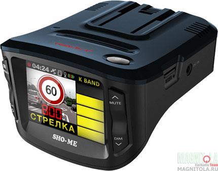 Автомобильный видеорегистратор/радар-детектор Sho-me Combo 1 A7