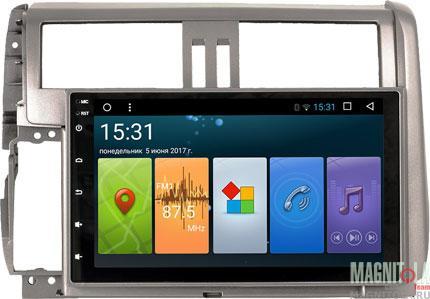 Мультимедийная система для штатной установки для Toyota Land Cruiser Prado 150 (2009-2013) MyDean D065