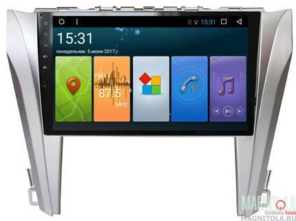 Мультимедийная система для штатной установки для Toyota Camry 2014+ MyDean D466