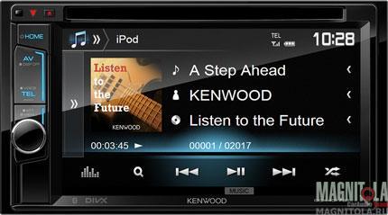 2DIN мультимедийный центр с поддержкой Bluetooth Kenwood DDX4017BTR