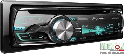 CD/MP3-ресивер с USB и поддержкой Bluetooth Pioneer DEH-6400BT