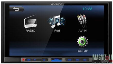 2DIN мультимедийный бездисковый ресивер Kenwood DMX100