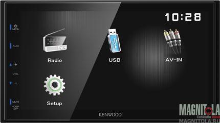 2DIN мультимедийный бездисковый ресивер Kenwood DMX110