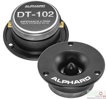 Коаксиальная автоакустика Alphard DT-102 - фото 3