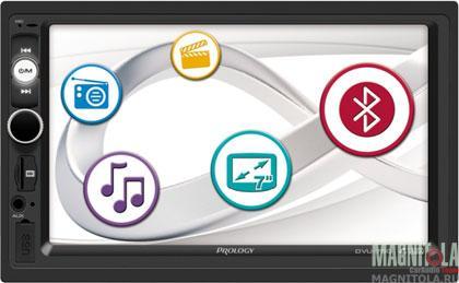 2DIN мультимедийный бездисковый ресивер Prology DVU-750