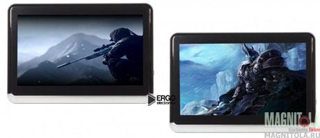 Комплект навесных мониторов на подголовник со встроенным DVD-плеером Ergo Electronics ER10A