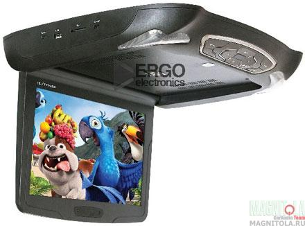 Потолочный монитор с DVD-проигрывателем Ergo Electronics ER11D