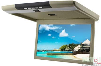 Потолочный монитор со встроенным медиаплеером Ergo Electronics ER15S beige