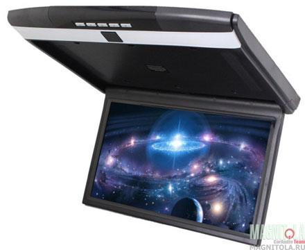 Потолочный монитор со встроенным медиаплеером Ergo Electronics ER15S black