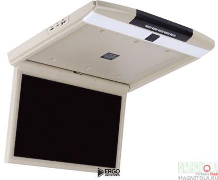 Потолочный монитор со встроенным медиаплеером Ergo Electronics ER17S beige