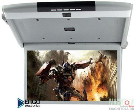 Потолочный монитор со встроенным медиаплеером Ergo Electronics ER15S grey