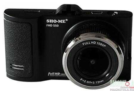 Автомобильный видеорегистратор Sho-me FHD-550