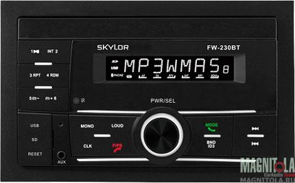 2DIN бездисковый ресивер с поддержкой Bluetooth SKYLOR FW-230BT