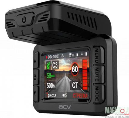 Автомобильный видеорегистратор/радар-детектор ACV GX-8000