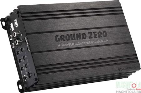 Усилитель Ground Zero GZHA MINI FOUR