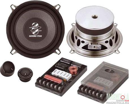 Компонентная акустическая система Ground Zero GZRC 13X