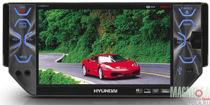 hyundai h-cmmd включается белый экран