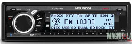 DVD-ресивер Hyundai H-CMD7086