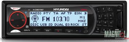 DVD-ресивер с USB Hyundai H-CMD7087