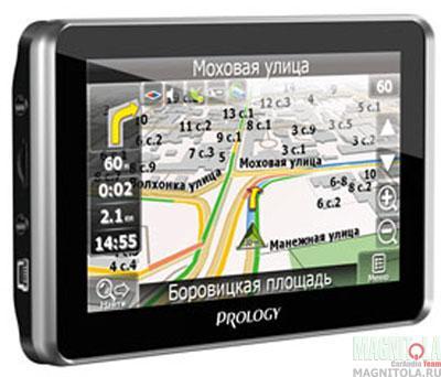 GPS-навигатор со встроенным видеорегистратором Prology iMap-560TR