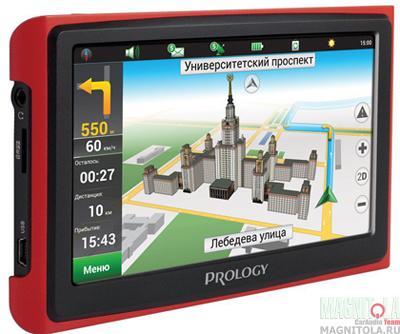 GPS-навигатор Prology iMap-5300 black/red