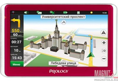 GPS-навигатор Prology iMap-5500 white/red