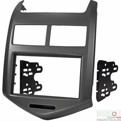 Переходная рамка 2DIN для автомобилей Chevrolet Aveo INCAR RCV-N10
