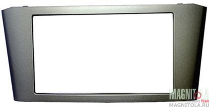 Переходная рамка 2DIN для автомобилей Toyota Avensis (серая) INCAR RTY-N12-G
