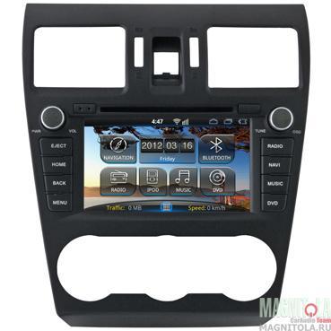 Мультимедийная система для штатной установки, с навигацией для Subaru Forester, Impreza 2013+, XV INCAR AHR-2686
