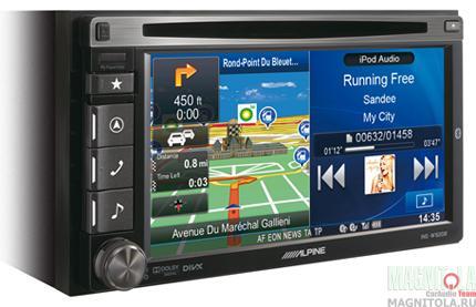 2DIN мультимедийный центр с навигацией и поддержкой Bluetooth Alpine INE-W920R