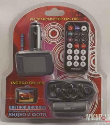FM-модулятор INTEGO FM-106