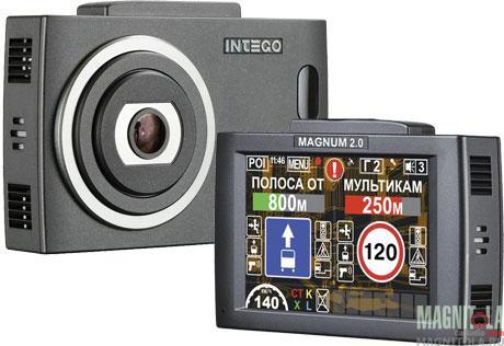 Автомобильный видеорегистратор/радар-детектор INTEGO MAGNUM 2.0