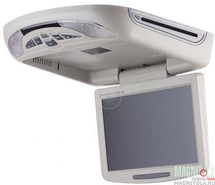 Потолочный монитор с DVD-проигрывателем MyDean IS-101 серый