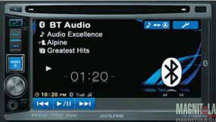2DIN мультимедийный центр с поддержкой Bluetooth Alpine IVE-W530BT